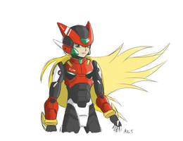 Zero Redesign Sketch by supereva01