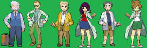 pokemon professors large sprites by malice936