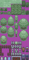 New Kanto Tileset Thus Far by malice936