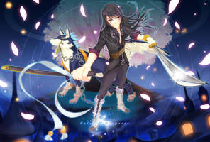 Yuri and Repede Brave Vesperia by RoyXIII