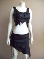 Scrapwork Bodice and Skirt by Xavietta