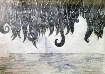 Sky of Despair Sea of Hope by pharotek