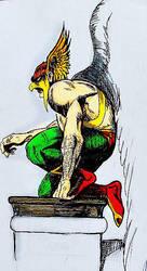 Hawkman by marcusjacksoncincy