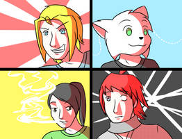 All Four (CD) by pyrofiend324