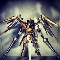 Gundam Kitbash Rytsar - Dual Wield Lance by s00nk1a