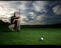 - the scratch golfer - by SaschaHuettenhain