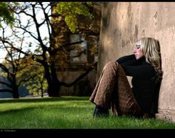 - sahira in the park - by SaschaHuettenhain