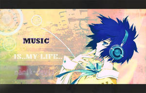 MusiC is my Life by marik-devil