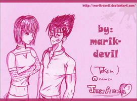 JinXAnna_TekkeN by marik-devil