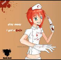 Bloody Nurse by marik-devil