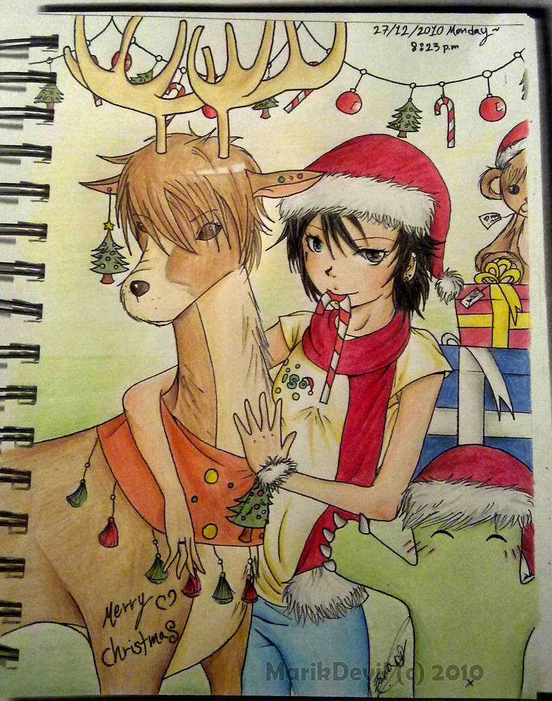 Merry Christmas by marik-devil
