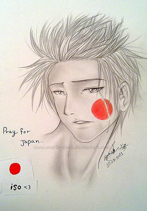 Pray 4 Japan by marik-devil