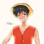 OP Luffy by marik-devil
