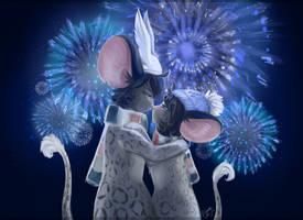 Firework! Prostoanry and Daisywhite by BlackMistOriginal