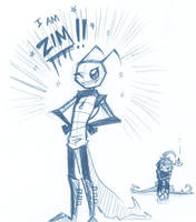 I am ZIM by BrokenDeathAngel