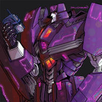 holo Bomberbody Megatron by TheButterfly