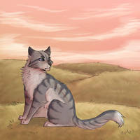 Jayfeather by paintedpaw-cat