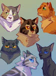 New Prophecy crew by paintedpaw-cat