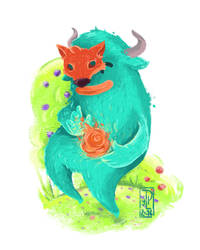Warlock by Monstruonauta