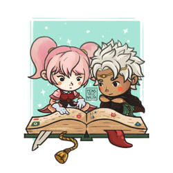 Mae and Boey by Monstruonauta