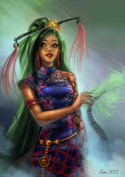 Jinafire long by Ninsianna