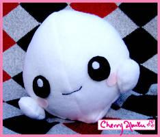 Ghost plushie by CherryAbuku