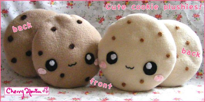 Cookie plushies by CherryAbuku