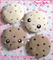 Cookie plushies 2 by CherryAbuku