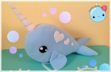 Narwhal Plush by CherryAbuku