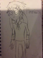 Finnian in Tim Burton's style by doctorwhooves253