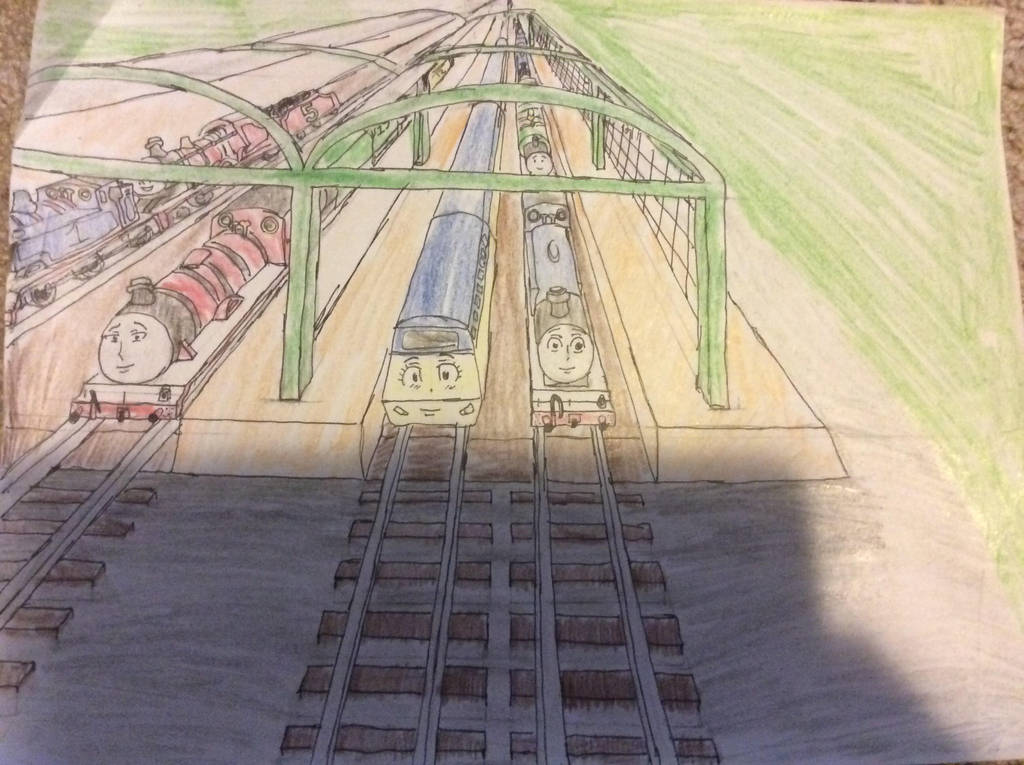 New Engines on the Railway Finale by doctorwhooves253