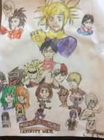 My Hero Academia Infinity War by doctorwhooves253