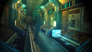 Corridor2 by GrahamTG