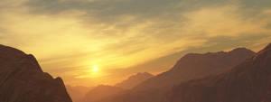 Sunset Canyon by GrahamTG