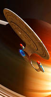 Enterprise D by GrahamTG