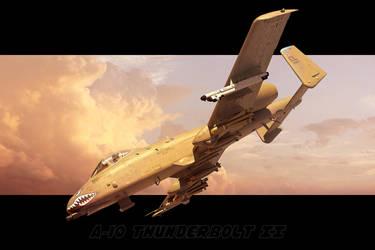 A-10 A Thunderbolt II by GrahamTG