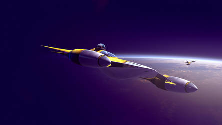 Naboo Starfighter by GrahamTG