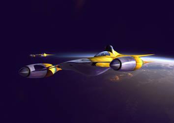 Starfighter by GrahamTG