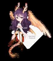 QILONG mascot by douNAI