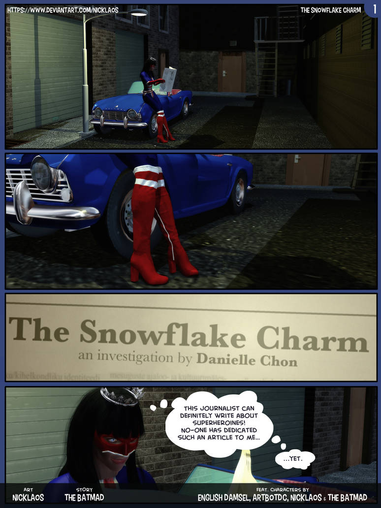 The Snowflake Charm Page 01 by Nicklaos