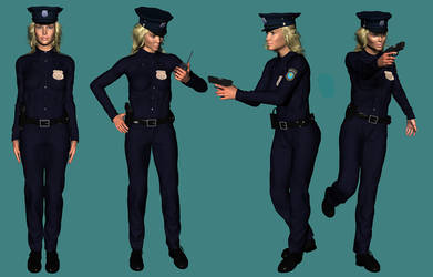 Police officer Stacy by Nicklaos