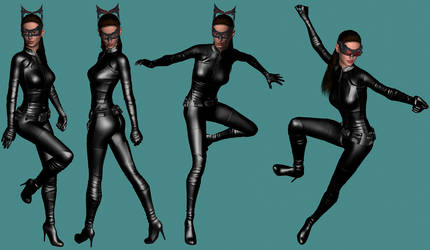 Catwoman by Nicklaos