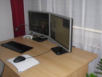 desktop by elcraxoenormo