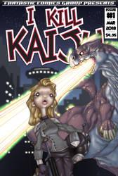 I Kill Kaiju #1 cover by pyromancy