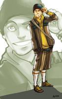 Modern Aang by asherluck