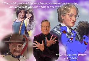Robin Williams Tribute by unicorn-skydancer08