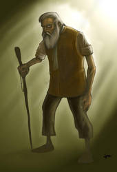 Old-man concept by Ballestrasse