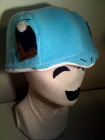 SQUIRTLE Hat by tacksidermia