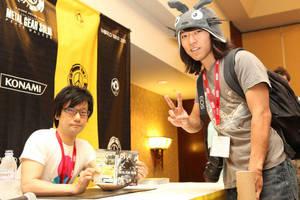 Hideo Kojima liked my hat by tacksidermia