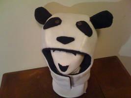PANDA Hood by tacksidermia